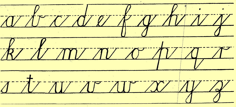 how to write a cursive k